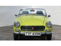 1974 MG Midget 1974 MG Midget 1.3 Litre 2 Door Sports Coupe Petrol yellow Manual