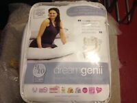 Dreamgenii pregnancy support and feeding pillow with cover