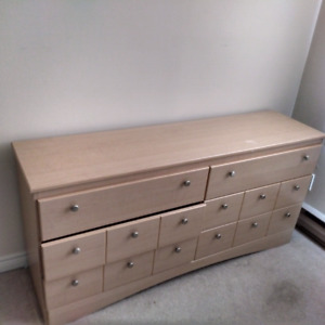 Moving Sale - coffee table, dresser, lamps - must go!