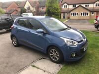 Hyundai i10 5 door 2015 petrol 1L only 3,500 miles from new!