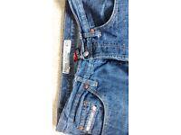 DIESEL Straight Leg Button Fly Jeans Waist 34/Leg 33