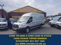 2016 16 FORD TRANSIT CUSTOM TREND JUMBO L4 2016/16 ONLY 18000 MLS