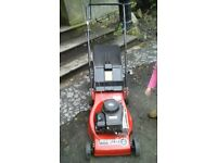 Mascot mountfield petrol lawn mower in great condition