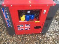 Diesel Perkins generator 18.5kva