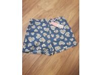 Brand new with tags womens shorts