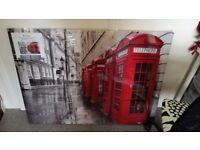 Large London canvases £5 each