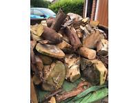 Logs firepit log burner chimnea