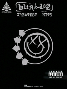 Blink 182 Greatest Hits Guitar Tab Songbook. All 17 tunes off th