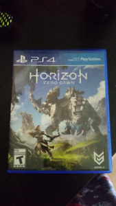 PS4 - Horizon: Zero Dawn