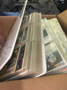 Huge Lot of Hockey and Baseball Cards (Many Hundreds)