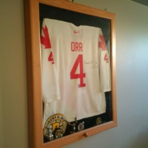 Bobby Orr Signed Team Canada Jersey