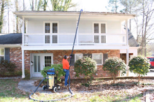 Eavestroughs and window cleaning