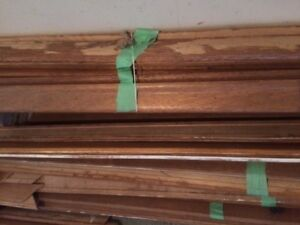 Used base boards and door trim,