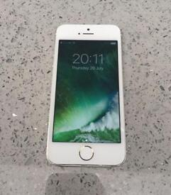 Apple iPhone 5S 16GB Silver on EE