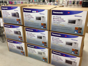 PANASONIC MICROWAVE OVEN WHITE, BLACK, STAINLESS STEEL 1.2CUFT