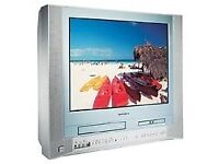 """toshiba 21"""" tv in excellent condition... with cd and dvd player option..."""