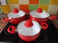 ceramic saucepans