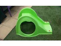 £5 Green toddler slide