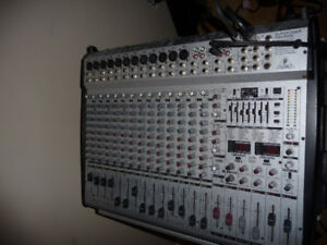 Behringer PMH5000 Powered Mixing Board with Built in FX