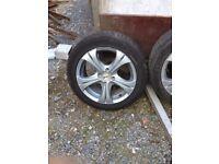 "Hyundai Getz alloy wheels 15"""