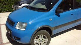 Fiat Panda 4x4 with low miles