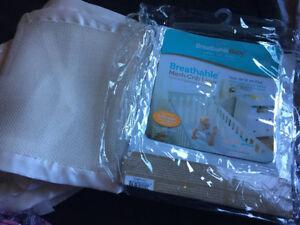 Breathable Mesh Crib Liner-Middleton