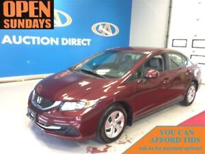 2013 Honda Civic LX! AC! ONLY 43481KM! FINANCE NOW!