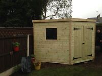 quality garden and corner sheds