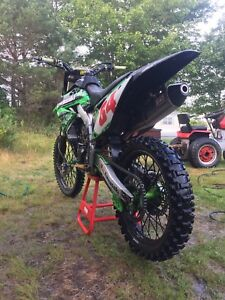 2009 monster energy edition Kx450f mint!!4000firm!!!