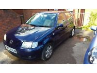 VW Polo 5 Door Y Reg 1.4 SE Automatic - Only 48K Miles, FSH, Recently Serviced, 1 Year MOT
