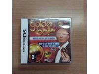 Nintendo DS Golden balls game