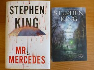 Stephen King:Mr.Mercedes-Wind Through The Keyhole-Like New