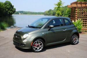 2013 Fiat 500 Coupe  Hbk  automatic 33000km -olive green
