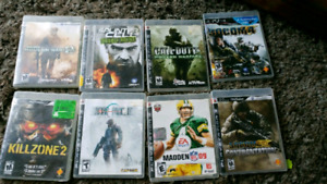 Selling ps3 games and ps4 game