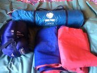 Eurohike sleeping bag single mummy 200