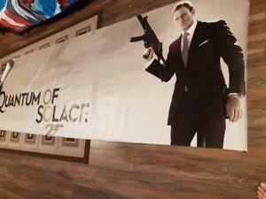 James Bond 007 Huge Banner