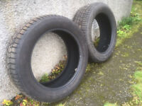 2x Continental ContiContact TS830 P winter tyres