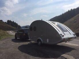 Retro Styled Tear Drop Trailer - The coolest caravan