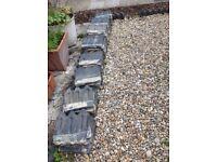Garden border tiles