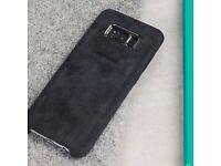 Samsung S8+ alcantara cover case official