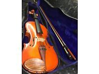 4/4 - 3/4 violin perfect for children