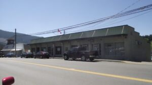 Commerical bulding with owner suite for sale in Lake Cowichan