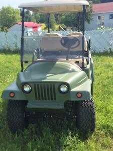 Cart électrique  style Jeep Neuf