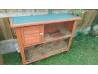 Rabbit / Guinea Pig Hutch + Run