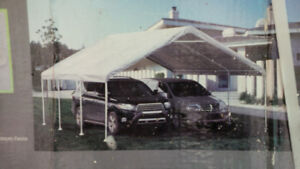 18x20 canopy - for 2 cars, shelter, etc. - complete & new in box