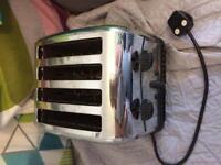 Chrome Kettle & Toaster Combo