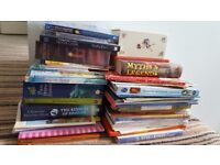 Childrens' books collection (100+) inc. stories, puzzles, flaps + Usborne
