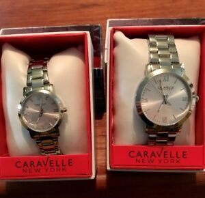 Caravelle New York Silver Watch