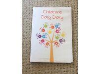 Bundle of childminding paperwork £15