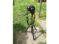 Nikon D3300 DSLR Camera with 18-55mm lens & tripod stand